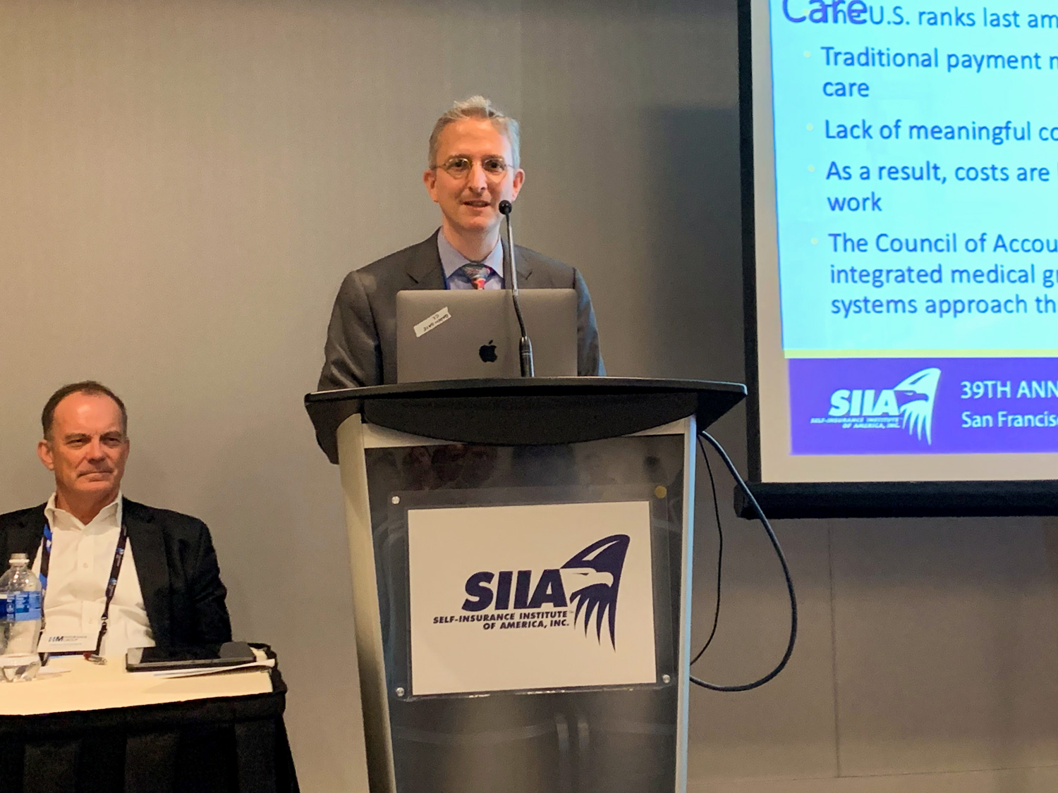 Dr. Parodi addresses SIIA